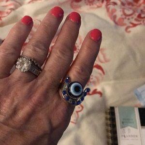 Evil Eye Ring for Good Luck